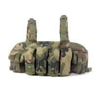 Buy Hot Sale Polyester camo Military magazine ak vest Army Vest with pouch at wholesale prices