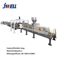 Quality PLA Palsctic Pvc Ceiling Panel Making Machine With Electrical Cabinet for sale