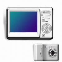 China Digital Camera with Built-in Flash, 2.4-inch TFT Color LCD on sale