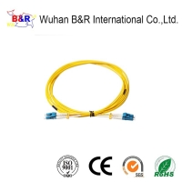 Quality LC to LC 0.9mm 2m SX Fiber Optic Patch Cord for sale