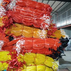 Quality Packing PP vegetable net bag / Potato Garlic Fruit Orange Firewood Mesh bag / onions bags for sale