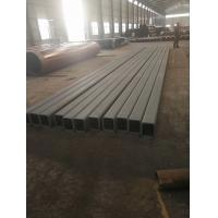 Quality Seamless square steel tubes with epoxy-polyamide primer for sale