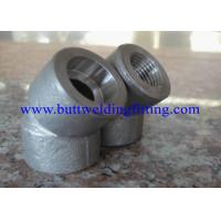Quality SW, 3000LB,6000LB  ANSI B16.11 Forged Pipe Fittings Butt Weld Elbows for sale