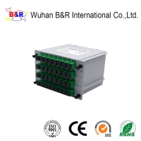 Quality ABS 1260nm 1X32 Cassette PLC Splitter With SC Connector for sale