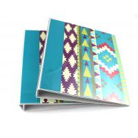 China Pantone Printing 2 Ring Binder A4 Paper Folder / Paper Expanding File Folder on sale