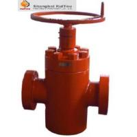"China API 6A Slab Gate Valve 7-1/16"" 10K FC manual Gate Valve ,the high pressure valve wholesale"