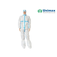 Quality EN13688 Unimax 65gsm Disposable Protective Coveralls for sale