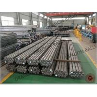 Quality Low Breakage Solid Steel Rod 3.2m - 4.5m Length Optimum Finish Grinding Media for sale