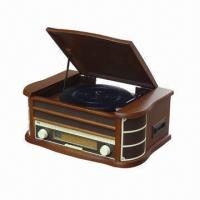 China Wooden Retro Style Radio with USB and Encoding, Cassette, CD, MP3 Player Functions on sale