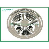 8 Inch Golf Cart Wheel Covers SS 5 Spoke Hub Caps For Steel Wheels 330g