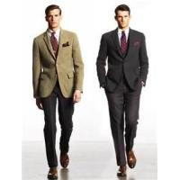 Quality stylish formal classic 65% polyester 35% viscose mens business suits for meeting weddings for sale