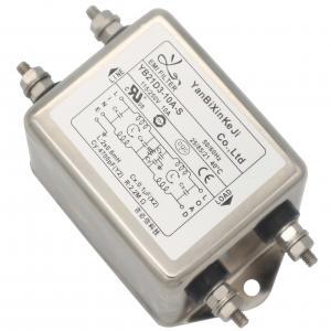 Quality 110v 220v Single Phase RFI Filter For Cooling Conditioner Equipment for sale
