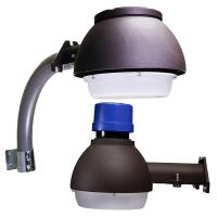 Buy cheap IP65 Waterproof Outdoor LED Area Lightt 130lm/w DLC 8800LM Luminous Flux from wholesalers