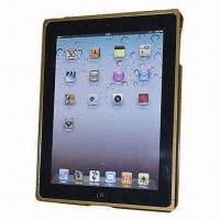 Quality Aluminum Bumper for iPad2 with Various Colors, Customized Designs are Accepted for sale