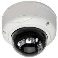 China Vandal Proof 0.1lux High Definition Security Camera Wifi , Video Audio Supported on sale