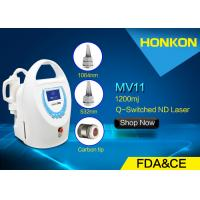 Quality Mini Size Q Switched ND YAG Laser Tattoo Removal Machine With Water Cooling for sale