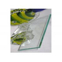 Quality 4mm Clear Float Glass Safety Laminated Float Glass For Officer Window / Door for sale
