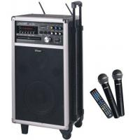 China Mobile USB MP3 Echo Portable PA System With UHF Wireless Microphone, Rechargeable Battery on sale