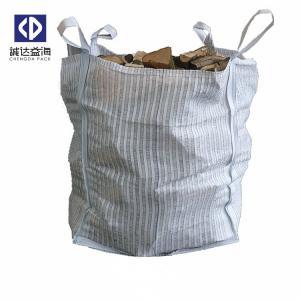 Quality Ventilated FIBC Bulk Bags / Bulk Firewood Bags For Potato Onion Vegetables for sale