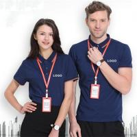 Quality Knitted Technics Smart Work Uniform Anti - Shrink Lapel Double Layer Plus Side for sale