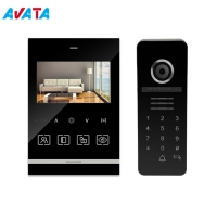 Quality Color Video Door Phone 4 Wires Video Intercom System with 4 Inch Monitor for sale