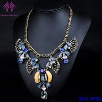 Buy cheap Resin Women Statement Necklace Resin Flower Necklaces Pendants Fashion Collar from wholesalers