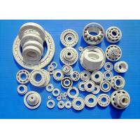 Quality ZrO2 Ceramic Bearings , Full Ceramic Bearings , Cage Was Made By PTFE,  GFRPA6 , PEEK, PI, AISI SUS304, SUS316, Cu, etc. for sale