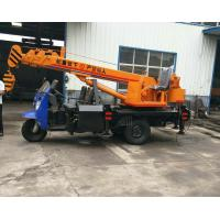 Quality Tricycle Hydraulic Truck Mounted Crane , 3- 5 Ton Lifting Mobile Truck Crane for sale