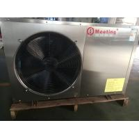 Quality 7kw House Heating Air Source Heat Pump With Staninless Steel Shell Wifi Function Support for sale