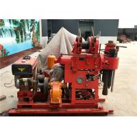 180m Depth Water Well Drilling Rig Machine , Hydraulic Core Drilling Rig 220V / 380V