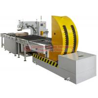 Buy cheap Waterproof Horizontal Coil Wrapping Machine Touch Type Man - Machine Interface from wholesalers