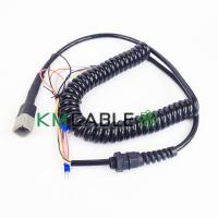 Quality Genie Lift Electrical Spiral Cable Fast Connect Water Resistant Replacement Joystick Parts for sale