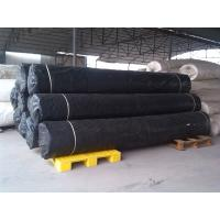 Quality Black Shrink Resistant Non Woven Fabric For Road / Concrete Slope for sale