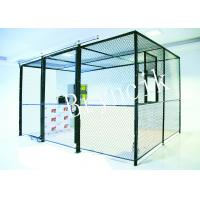Buy cheap 4 Sides Wire Mesh Security Partitions Data Protect Security With Roof from wholesalers
