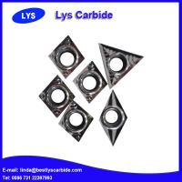 Quality Carbide turning tool inserts DCGX for Al alloys for sale