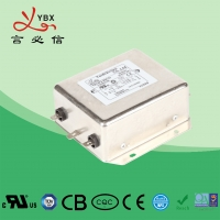 Quality High Performance DC Line Noise Filter / 1A-60A EMI RFI Noise Filter for sale