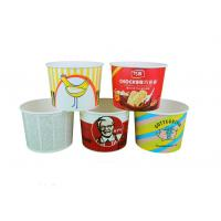 Quality Individual Paper Popcorn Containers For Party , Reusable Popcorn Bucket for sale