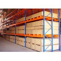 China Customized Adjustable Powder Coated Steel Warehouse Selective Pallet Rack on sale
