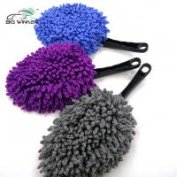 China Portable Microfiber Cleaning Duster Soft Chenille Car Wash Brushes on sale