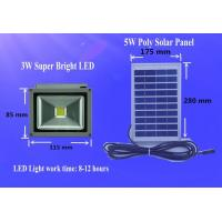Portable solar system DC Solar light kit Solar Flood light 3W Super Bright