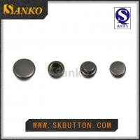 2016 new design metal anti silver snap button for garments in high quality