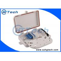 Quality Indoor Loaded 4Port SC / UPC Fiber Optic Terminal Box With Pigtail And Adapter for sale