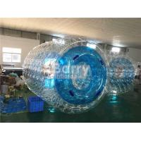 China Waterproof Custom Inflatable Pool Toys Blue Water Roller For Kids / Adults wholesale