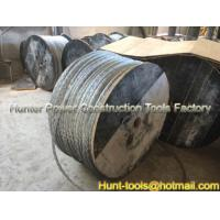 China Pulling Rope Anti-twisting Galvanized Steel Wire Rope 16mm wholesale