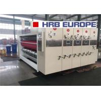 Quality HRB-924 1224 1228 04 Flexo Folder Gluer Color Printer Slotter Die Cutter Casemaker for sale