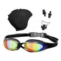 Swimming goggles&Caps set for Adult