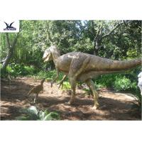 Quality High Simulation Animatronic Giant Dinosaur Statue Water / Corrosion Resistant for sale