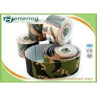 Camouflage Kinesiology Physiotherapy Tape Bandage For Muscle Sports Protective