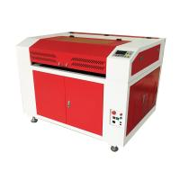 China High Speed Leather Laser Cutting Machine , Safe / Smart Leather Etching Machine on sale