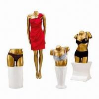 China Display Female Mannequins without Head, Made of Fiberglass and Resin on sale